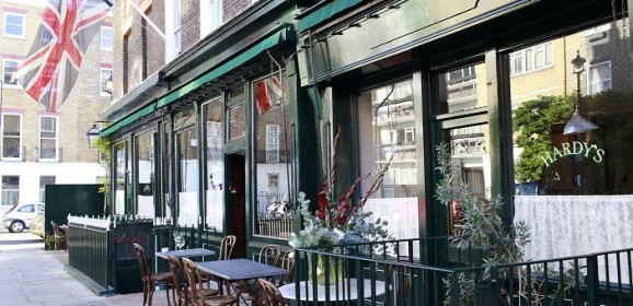 Dining at Hardy's Brasserie